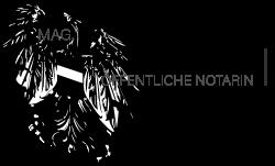 Das Logo vom Notariat Mag. Angelika Kompein in Vösendorf in Niederösterreich
